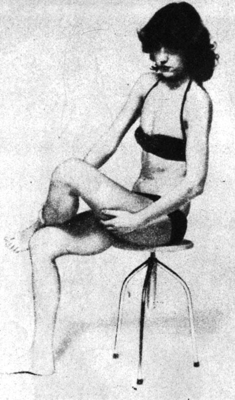 Вибрационный массаж бедра (запрещен массаж при варикозном расширении вен)