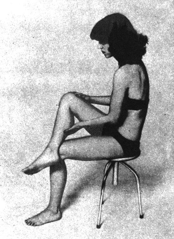 Вибрационный массаж голени, затылка, спины, ягодичных мышц
